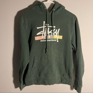 Stussy International Sweatshirt Hoodie Centre Logo